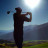 Silhouette Golfer